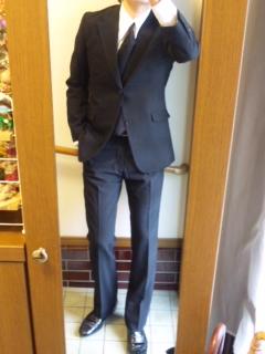 JAP'Sの顔的ブラックスーツ★